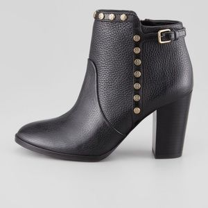 Tory Burch Mae studded leather ankle bootie